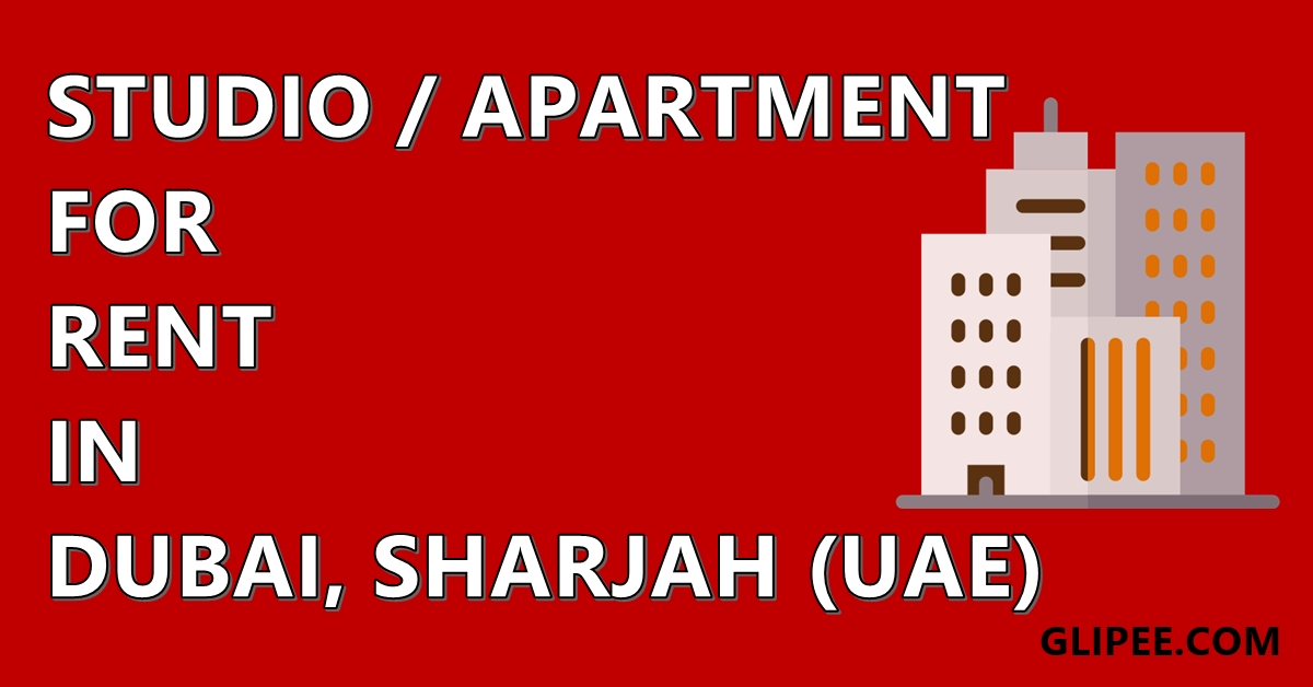 Aprtment for rent in Dubai, Abu Dhabi. Furnished apartment in Sharjah for family